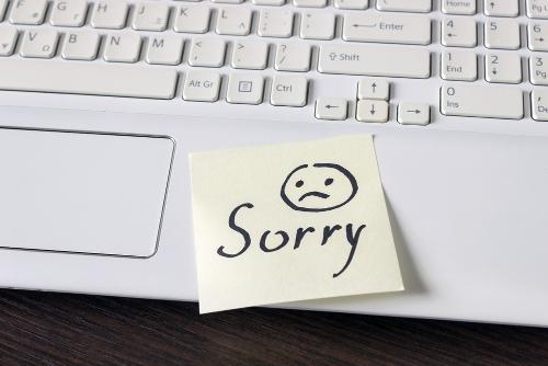 謝らない人の心理が謎…その本音について
